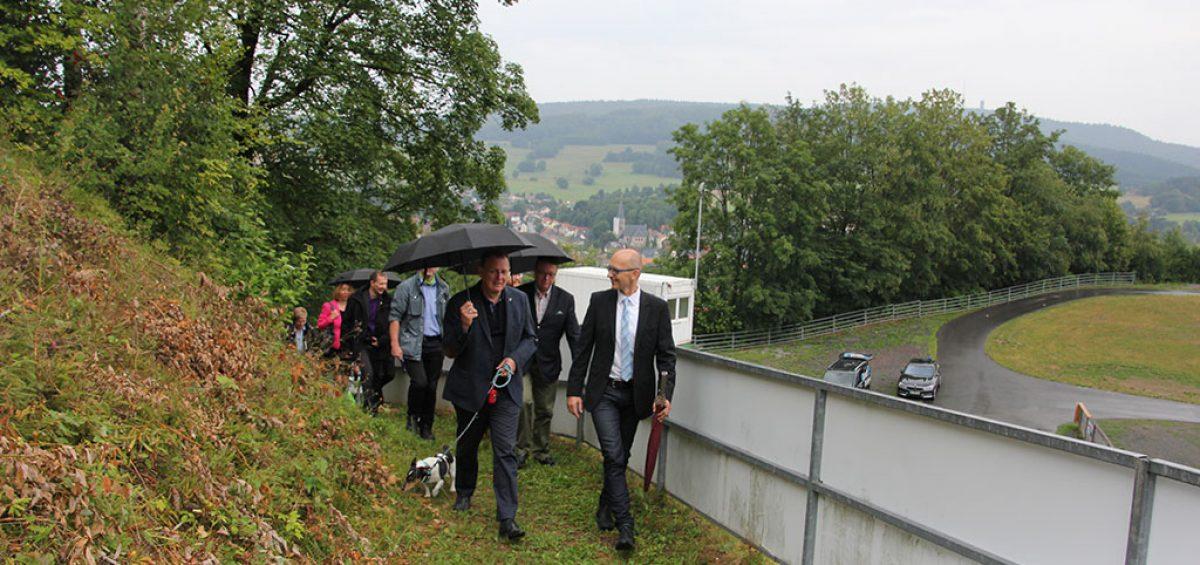 Bodo Ramelow Inselbergschanze 19.07.2019 Bild 3