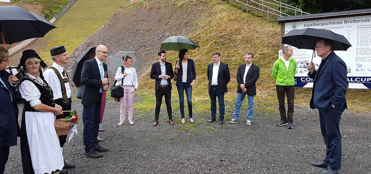 Bodo Ramelow Inselbergschanze 19.07.2019 Bild 6