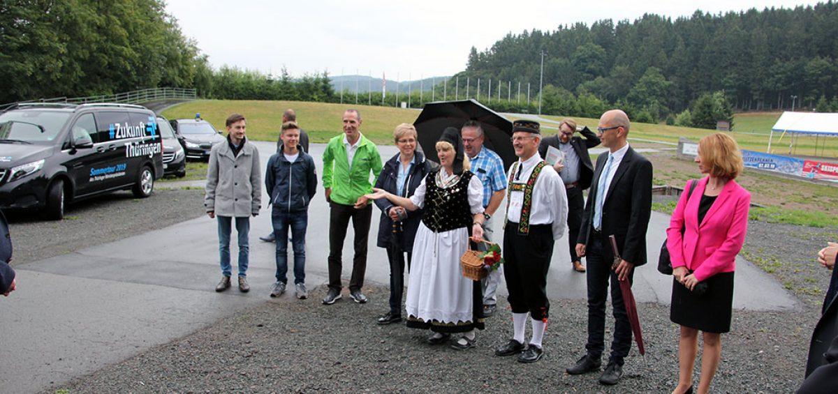 Bodo Ramelow Inselbergschanze 19.07.2019 Bild 7