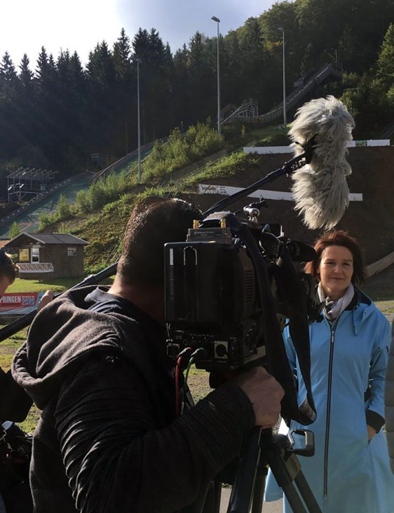 Inselbergschanze im MDR Fernsehen 1